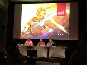 Panel at Cartoon Forum 2012 Pitch